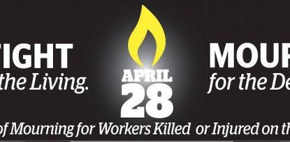 National Day of Mourning – April 28, 2018