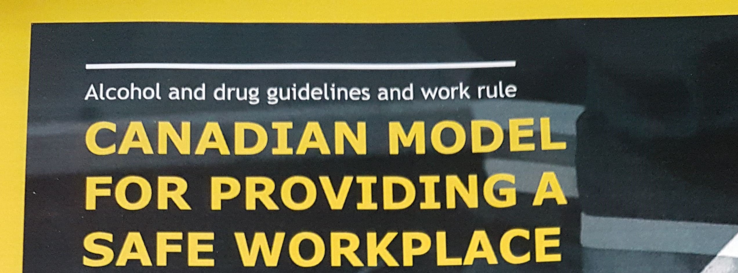 Canadian Model for providing a safe workplace